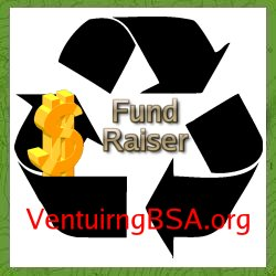 Boy Scout Recycling Fundraiser Program